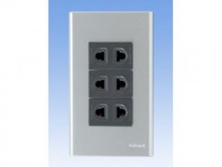 Bộ 3 ổ cắm đơn PNN-003-044